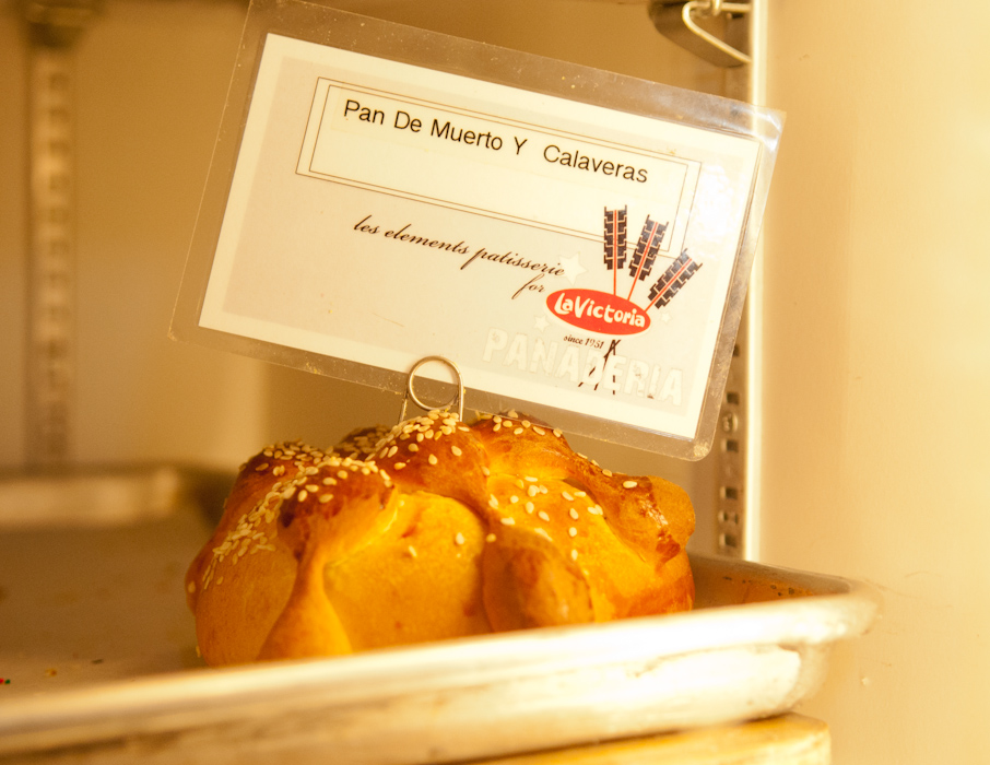Pan de Muerto at La Victoria. Photo: Naomi Fiss