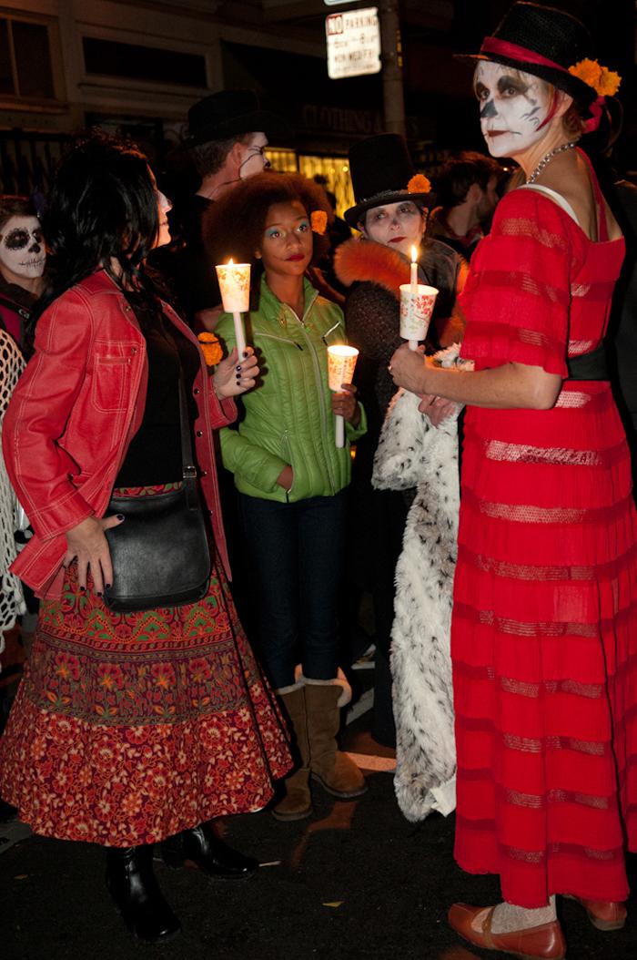 Family: candlelight vigil / procession. Photo: Naomi Fiss