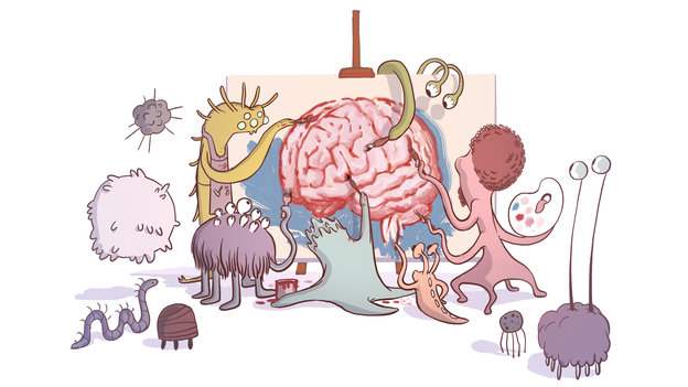Gut Bacteria Might Guide The Workings Of Our Minds