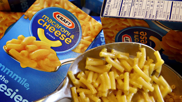 Some Kraft mac and cheese will no longer sport that startlingly orange glow. Photo: Matt York/AP