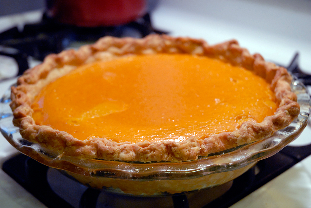 Better than Pumpkin Pie right out of the oven. Photo: Wendy Goodfriend