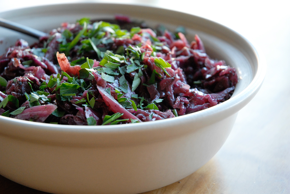 Braised Red Cabbage. Photo: Wendy Goodfriend