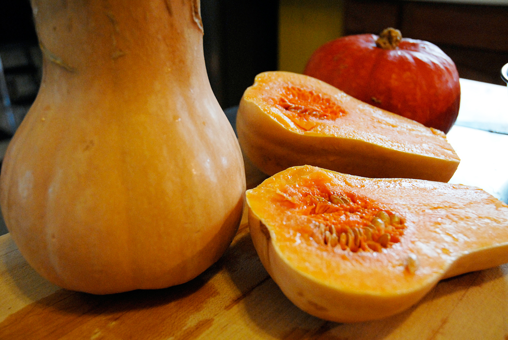 Butternut and Kobocha squash. Photo: Wendy Goodfriend