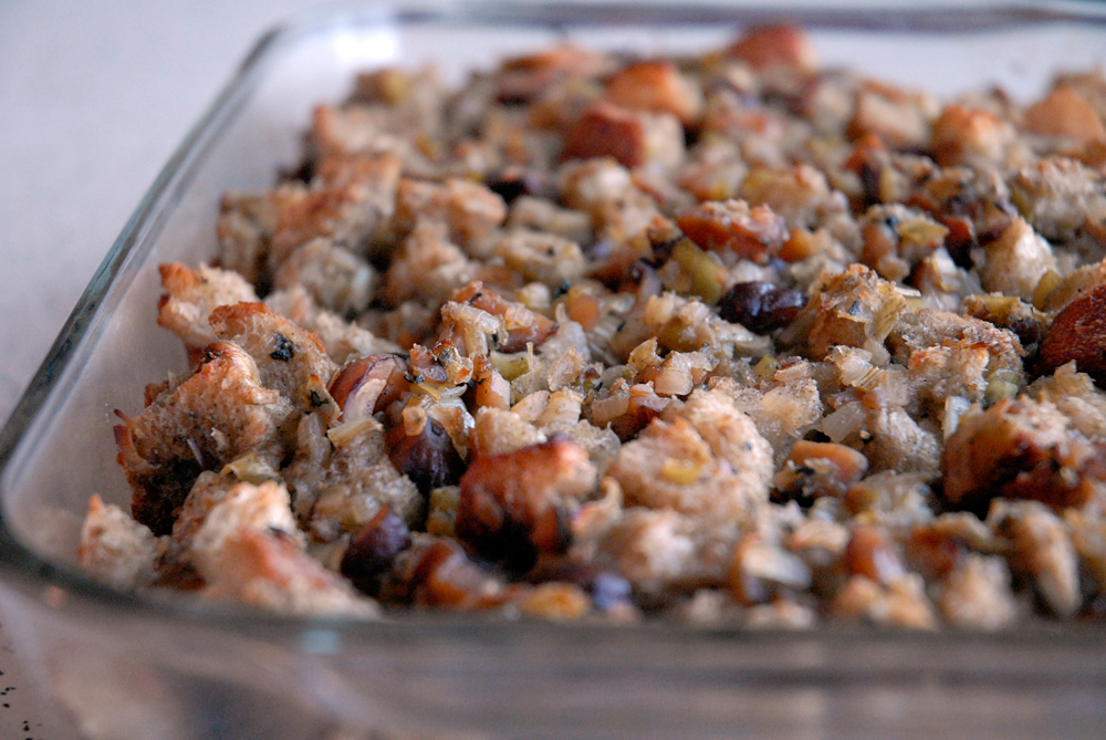 Sage and Chestnut Stuffing. Photo: Wendy Goodfriend