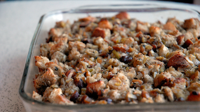 Thanksgiving Recipe: An Elevated Version of Classic Sage and Chestnut Stuffing
