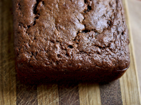 Banana-Cocoa Bread. Photo: Nicole Spiridakis for NPR