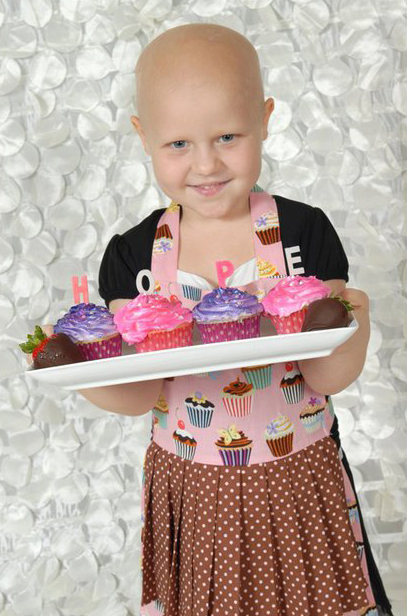 Emma was diagnosed with acute lymphoblastic leukemia March 2010. Photo: Anastasia Wilhite