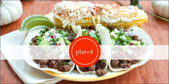 Plated delivers ingredients and recipes for customers to whip up their own meals.