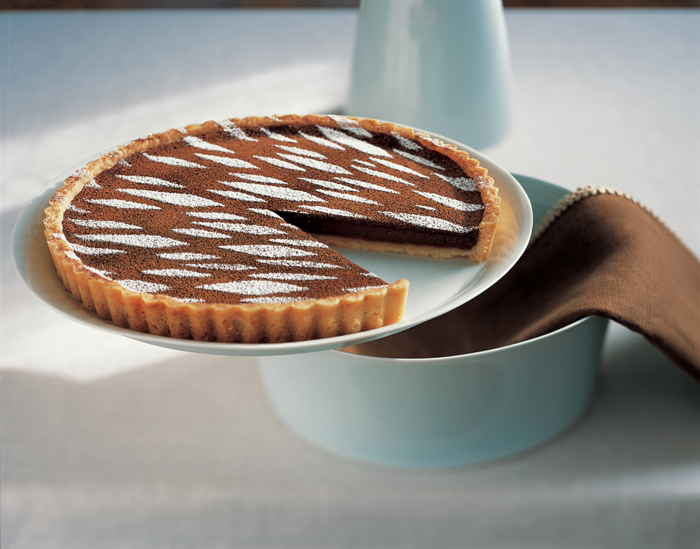 Warm Mocha Tart. Photo: Deborah Jones