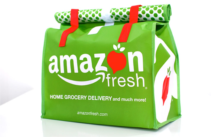 AmazonFresh, Drones, Plated and Pizza Buttons: Food Delivery in the 21st Century