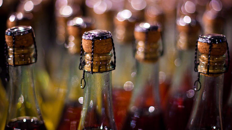 Each bottle of Champagne contains around 50 million bubbles. But will any of them accelerate the inebriation process? Photo: Victor Bezrukov/Flickr