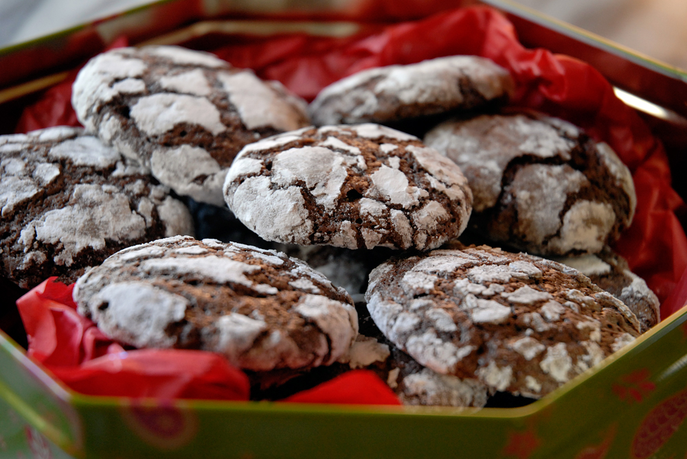 Kim Laidlaw's Chocolate Crinkle Cookies. Photo: Wendy Goodfriend