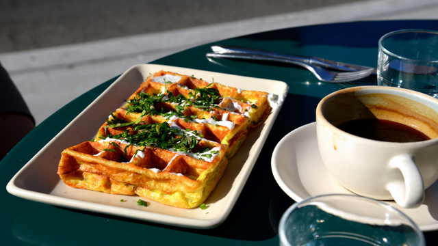Linea Caffe: The Tiny Mission Café Hit the Coffee and Waffle Sweet Spot