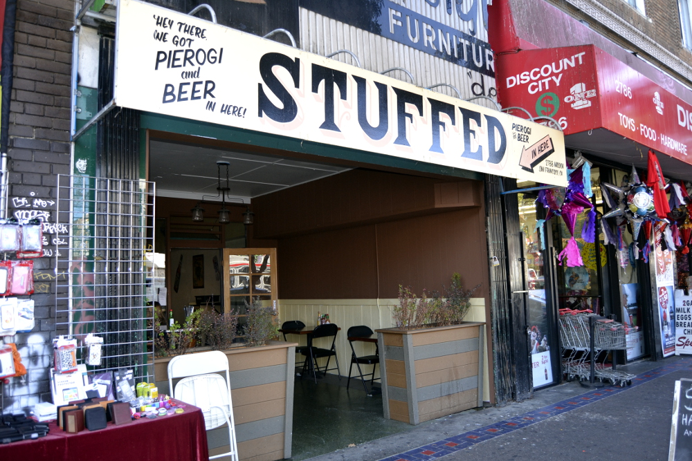 Stuffed is a new pierogi restaurant near the 24th Street BART in the Mission district. Photo: Kate Williams