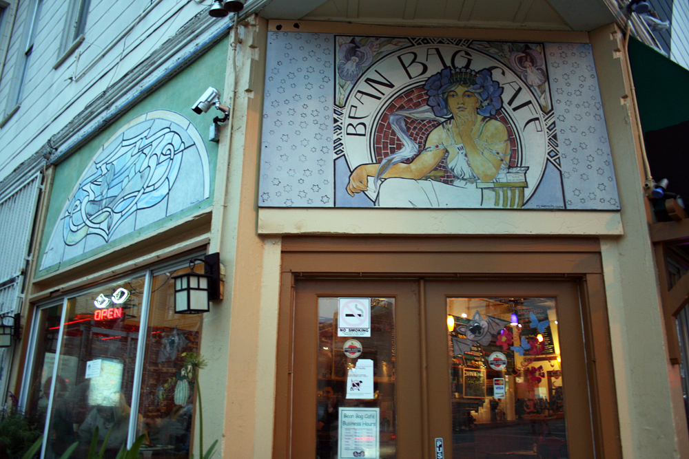 Bean Bag Cafe. Photo: Lauren Sloss