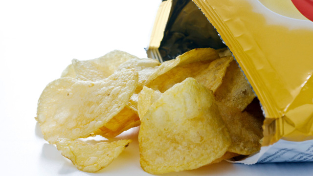 Potato chips. Photo: Getty Images