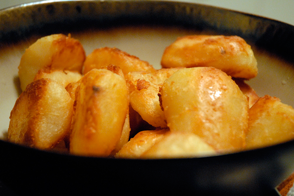 Serve the roasties while hot! Photo: Wendy Goodfriend
