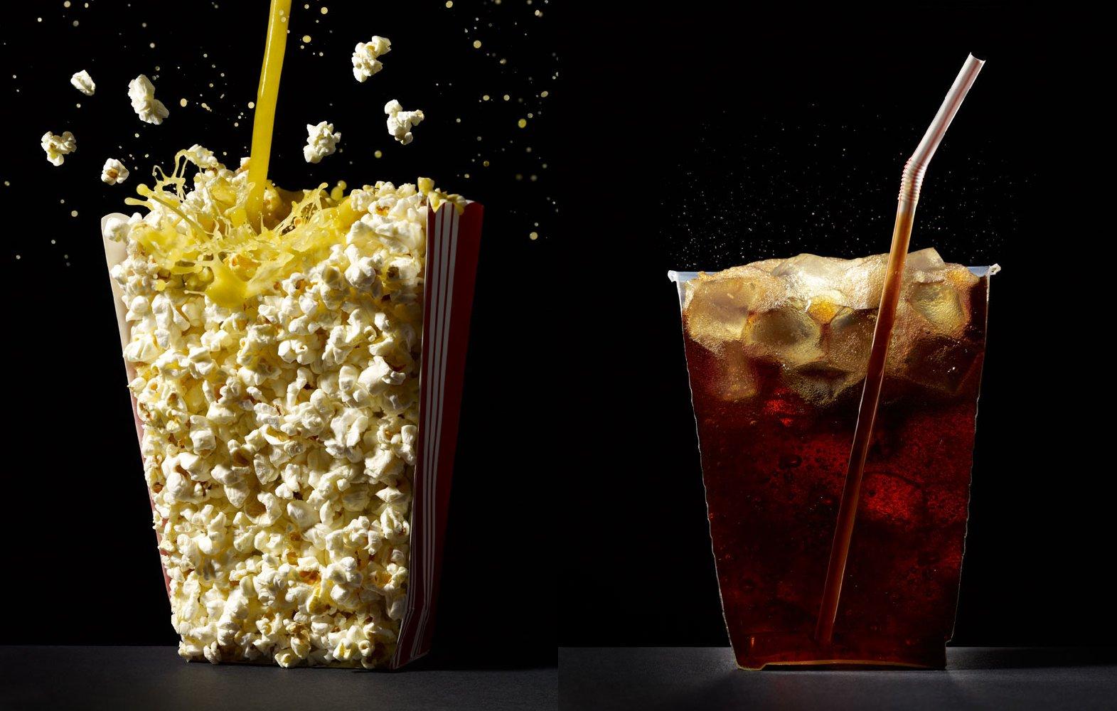 Popcorn and soda. Photo: Courtesy of Beth Galton