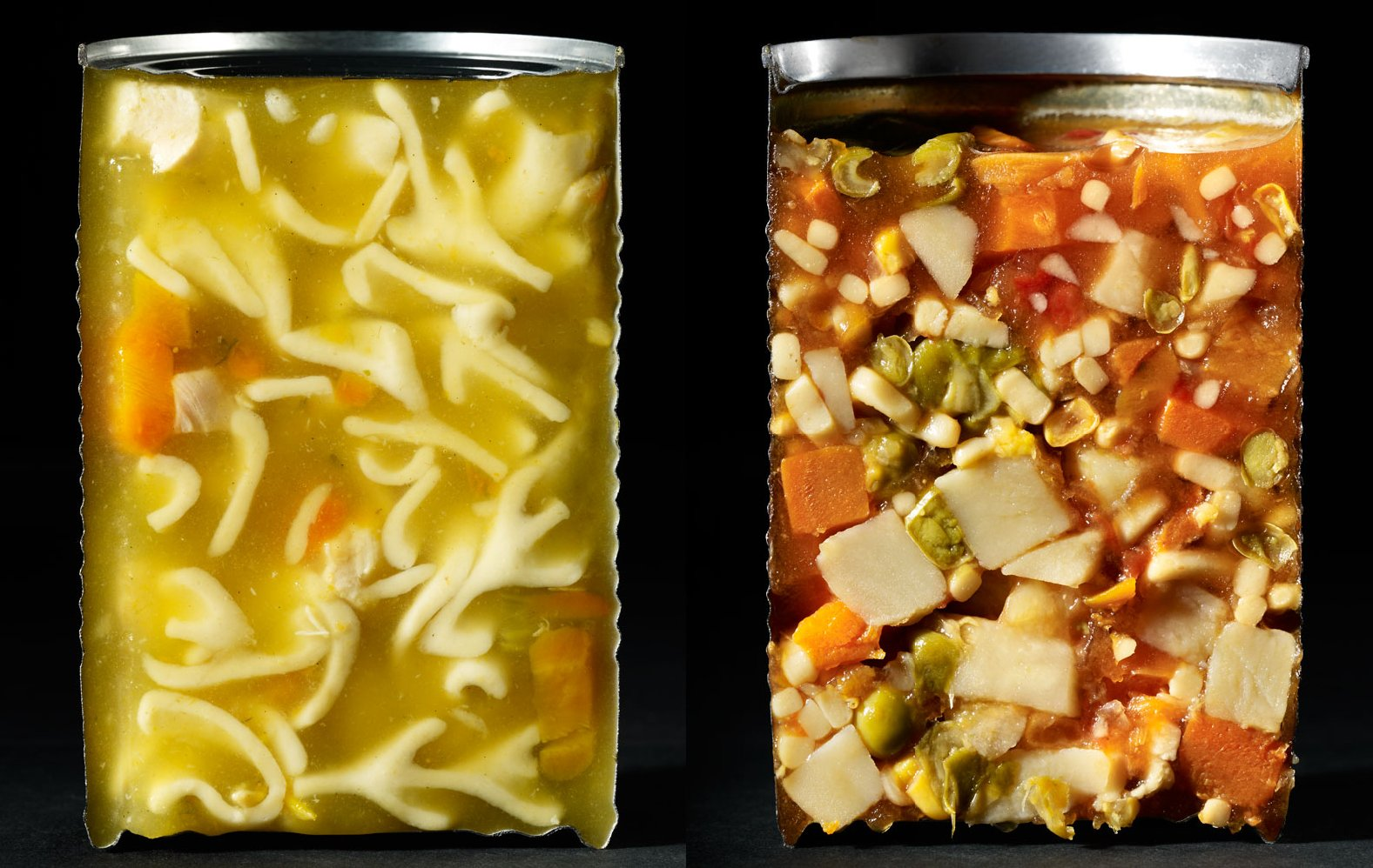Canned soups. Photo: Courtesy of Beth Galton