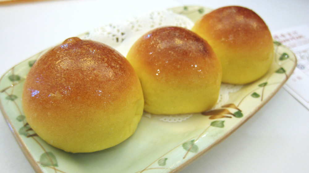 Baked BBQ Pork Buns at Asian Pearl Seafood Restaurant