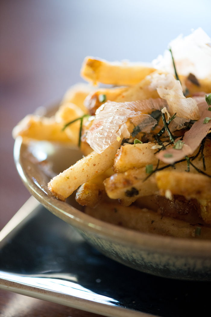 Fog City handcut Furikake Fries. Photo: Kristen Loken
