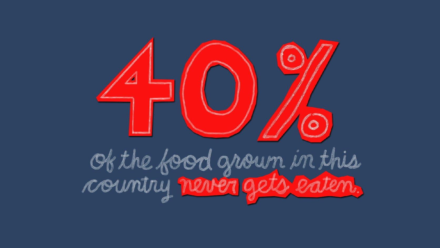 40%foodwaste