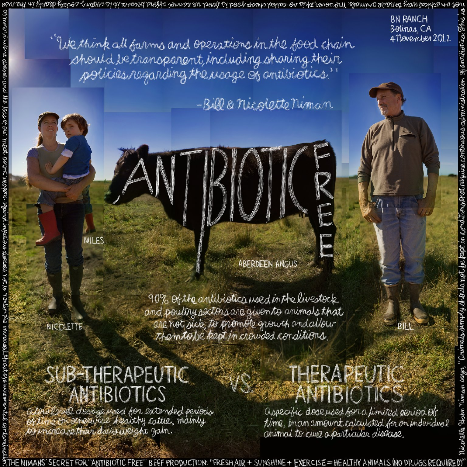 """The Lexicon of Sustainability: """"Antibiotic-Free"""" featuring Bill & Nicolette Niman of BN Ranch"""