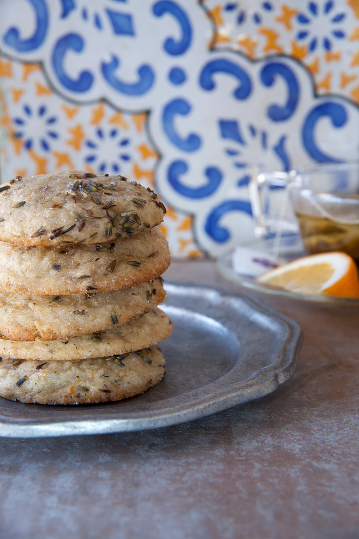 Chamomile lavender Baked cookie. Photo credit: Nicole Rosario