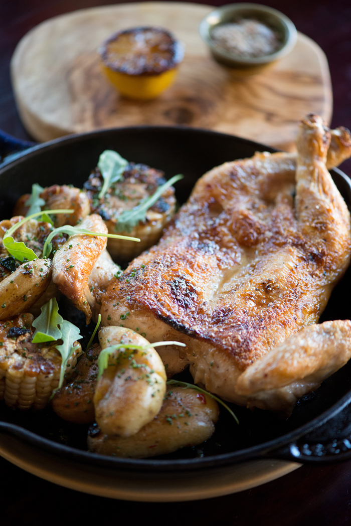 Fog City wood oven chicken. Photo: Kristen Loken