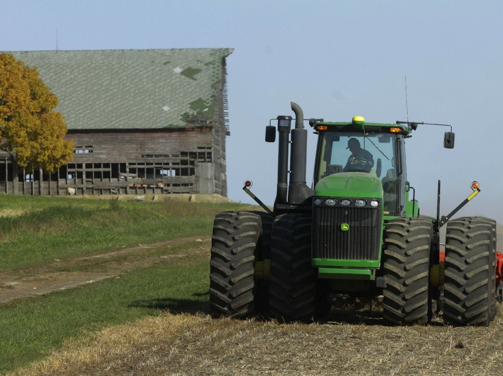 Farm statistics: usually illuminating ... occasionally misleading. Photo: Seth Perlman/AP