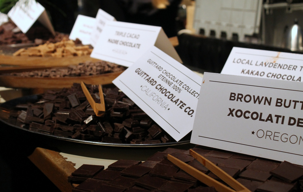 Guittard Chocolate's 100% cocoa bar was the only San Francisco-area chocolate company to win an award. Photo: Kate Williams