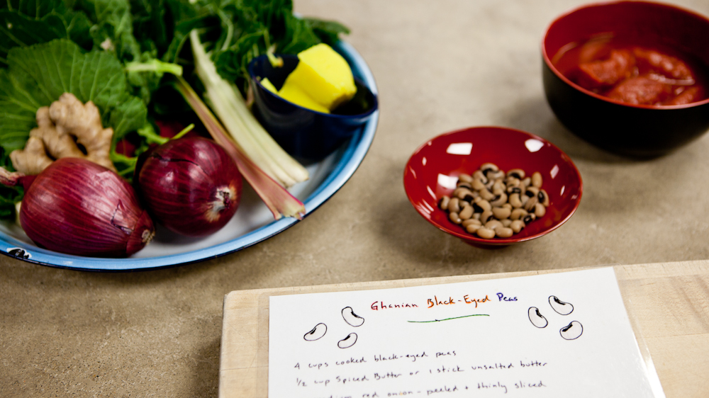 Black-eyed peas and greens are a New Year's Day tradition for many, considered good luck by some. Photo: Erin Scott