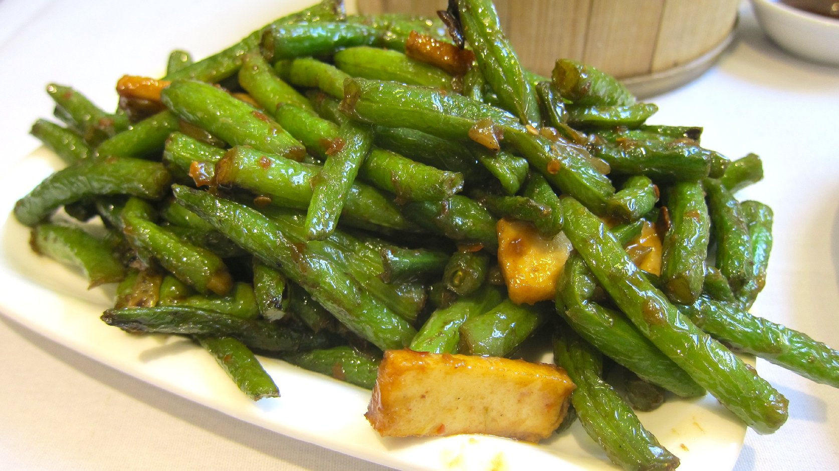 Sauteed Green Beans with Tofu | Bay Area Bites | KQED Food