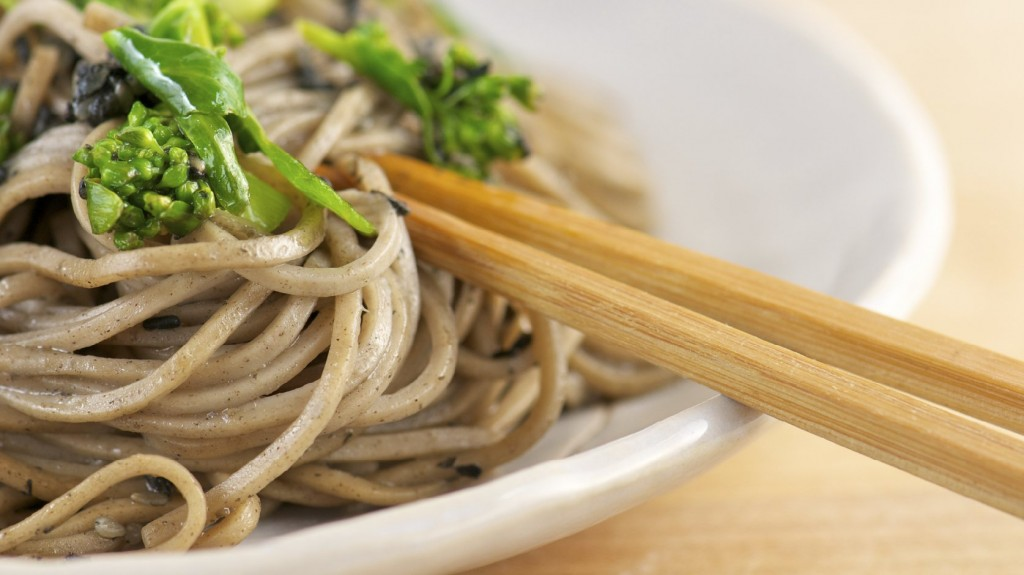 Genuine soba noodles are difficult to find in the U.S. Photo: iStock