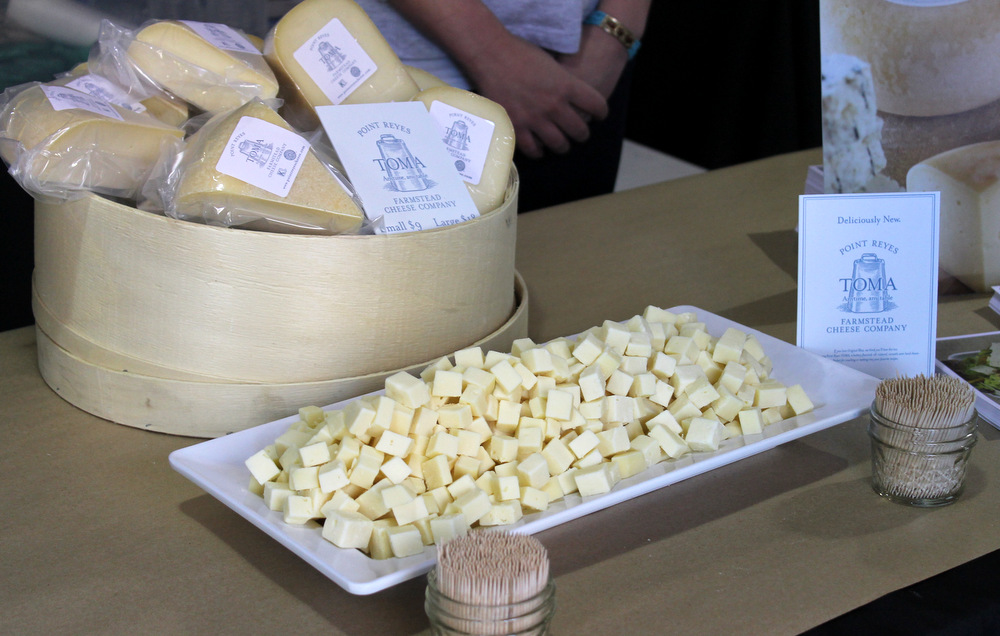 Point Reyes Farmstead's buttery Toma Cheese was a North Bay dairy winner, along with Bellwether Farms. Photo: Kate Williams