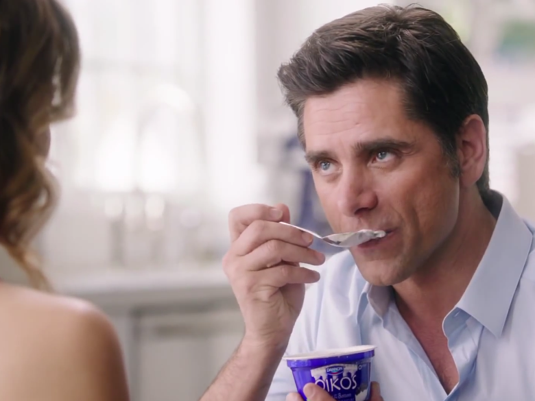 Super Bowl Ads Go Healthy: Selling Yogurt With A Steamy Kiss