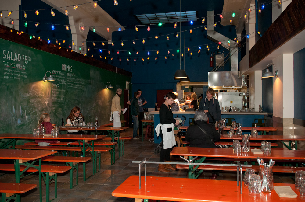 PizzaHacker interior. Photo: Naomi Fiss