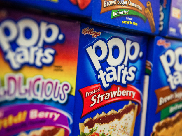 Kellogg, maker of Pop-Tarts, announced Feb. 14 that it will buy palm oil — an ingredient in Pop-Tarts — only from companies that don't destroy rain forests where palm trees are grown. Photo: Andrew Burton/Getty Images
