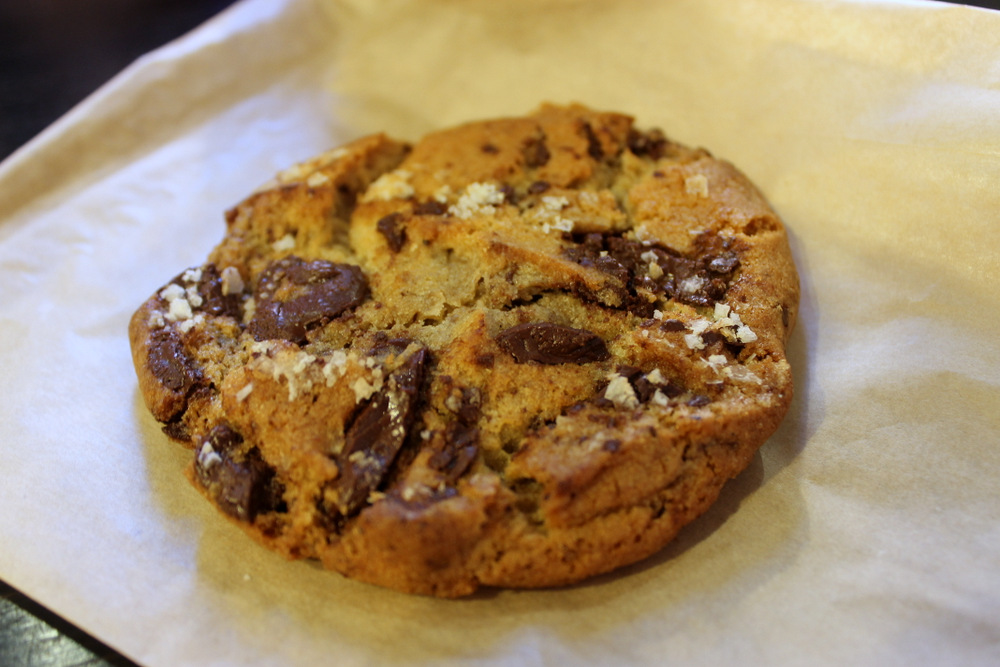 The chocolate chip cookie makes a stellar dessert. Caption: Kate Williams