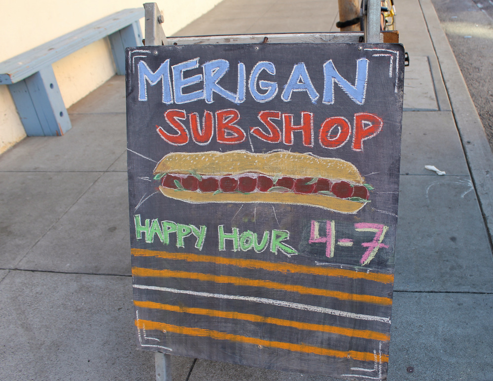 Merigan Sub Shop in SoMa specializes in high-quality East Coast-style sandwiches. Photo: Kate Williams