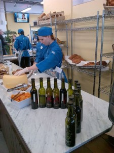 Oakland's own Veronica Foods olive oil behind the scenes at the Sochi Olympics. Photo: Courtesy