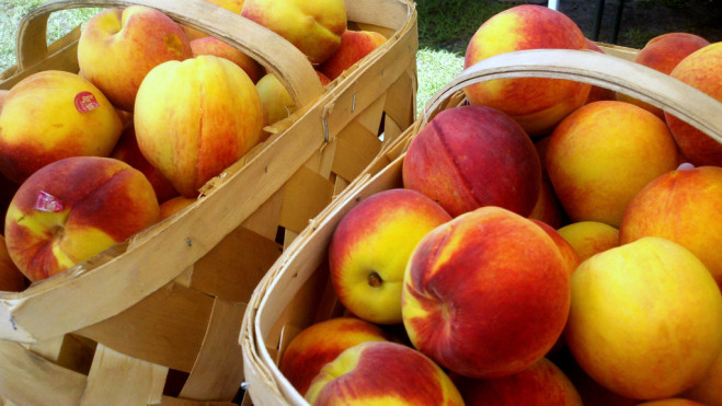 Peaches. Photo: North Charleston/Creative Commons