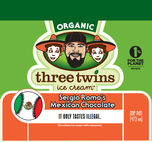 Three Twins Sergio Romo's Mexican Chocolate - It Only Tastes Illegal