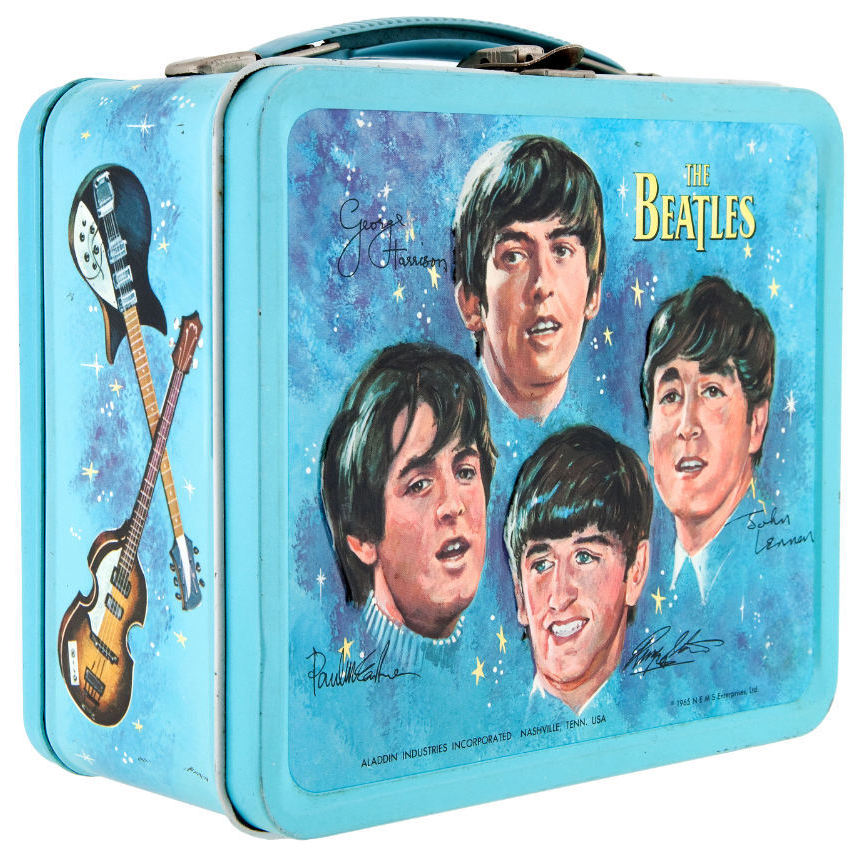 "I want to hold your lunch! This 1965 lunchbox — considered ""one of the Holy Grails"" of lunchbox collecting — sold for $936.10 in 2013. It came with a thermos. Another mint condition sample sold for $1,625 last fall. Photo: Courtesy of Hake's Americana & Collectibles"