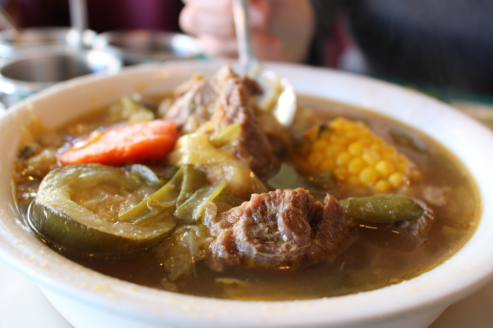 SanJalisco's caldo de res (beef soup). Photo: Wendy Goodfriend