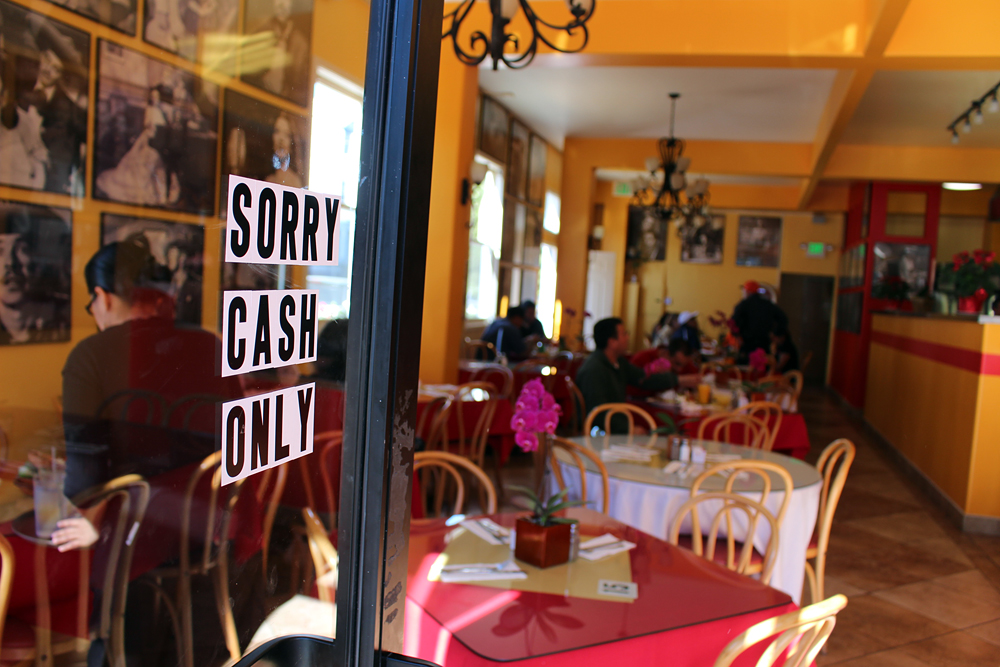 Gallardos accepts Cash Only. Photo: Wendy Goodfriend