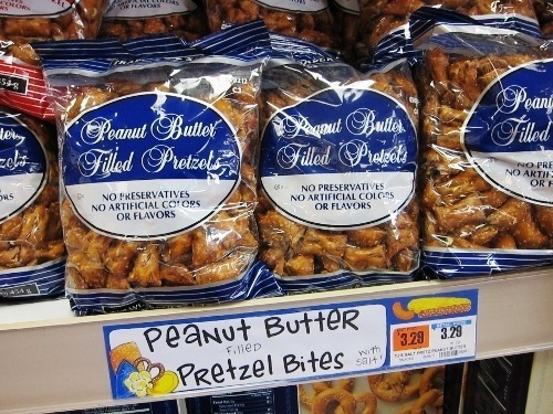 The Trader Joe's Peanut Butter Filled Pretzel: The salty-sweet snack that launched a bitter lawsuit. Courtesy of Tine Haupert