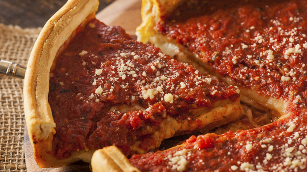 Justice Scalia and Jon Stewart Concur Chicago Pizza Isn't Pizza