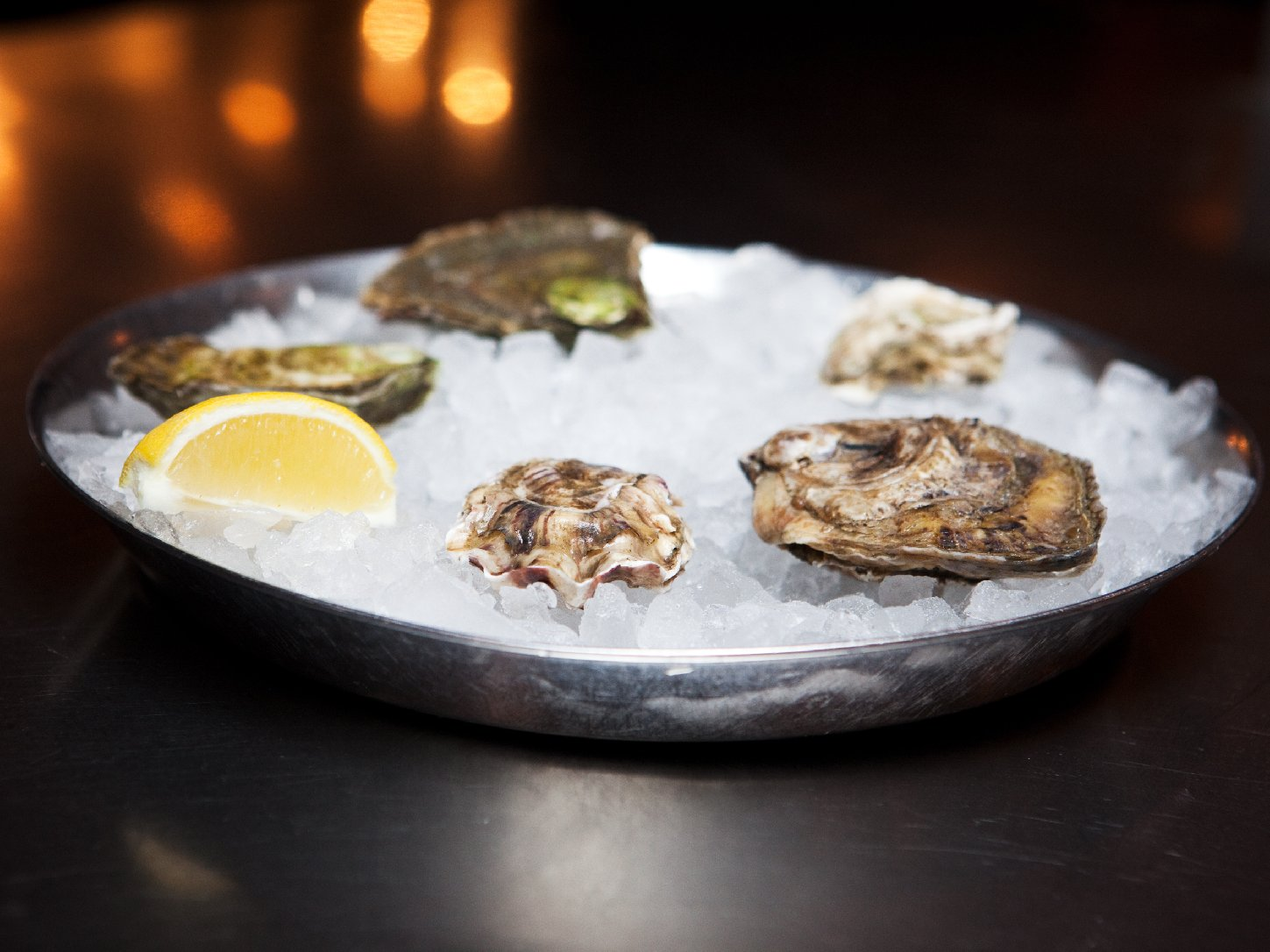 The stories linking oysters and other shellfish to lust go back to at least the ancient Greeks. (Maggie Starbard/NPR)