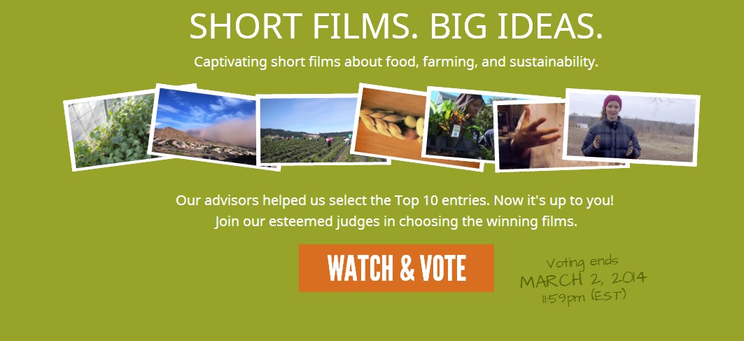 The Real Food Media Contest ends March 2. Photo: Real Food Media